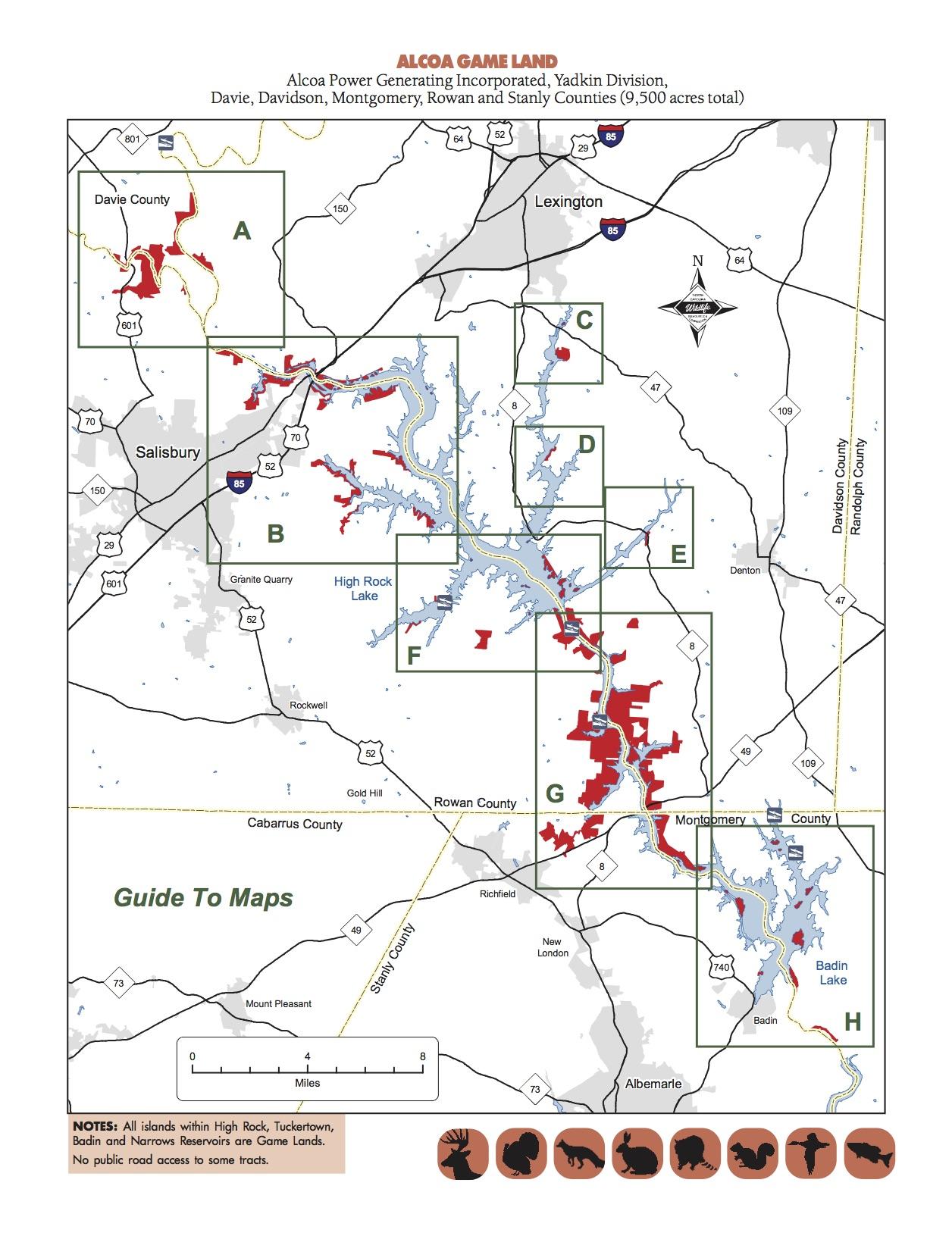 HLRBO - Davidson,North Carolina Hunting Lease on